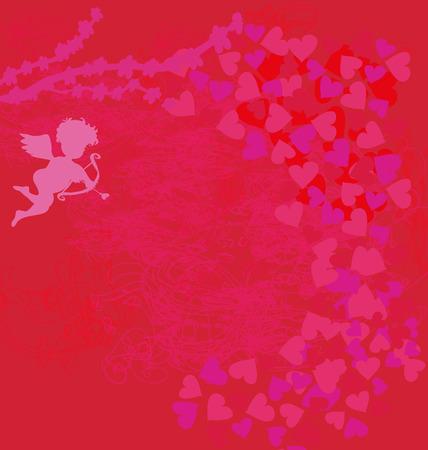 cupido: Happy valentines day background