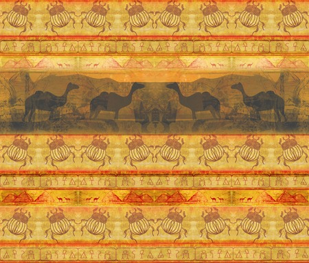 wild africa - abstract grunge pattern Stock Photo