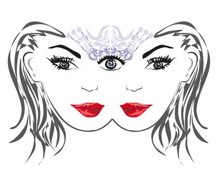 psique: Mujer con poder sobrenatural.