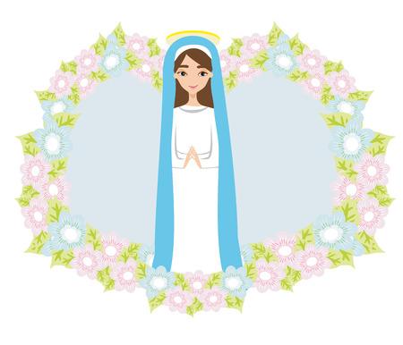 Holy Mary icon