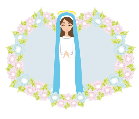 Holy Mary icon