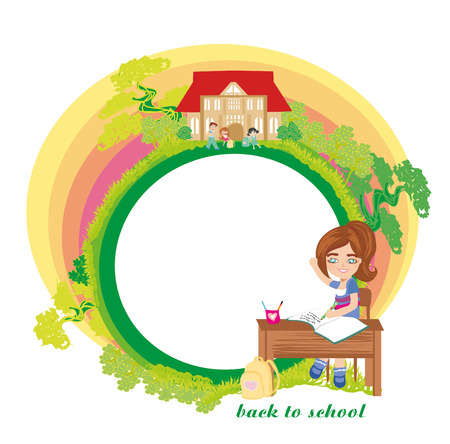 Back to school card