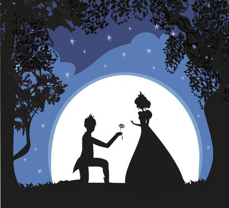 princess with prince