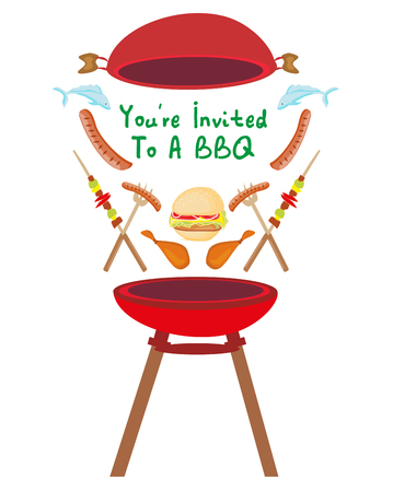 Barbecue Party Invitation banner
