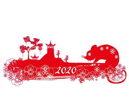 Happy chinese new year 2020 - Year of the rat