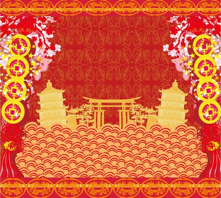 Mid-Autumn Festival for Chinese New Year - card Standard-Bild - 130021046