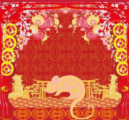 Felice anno nuovo cinese 2020 - Anno del topo