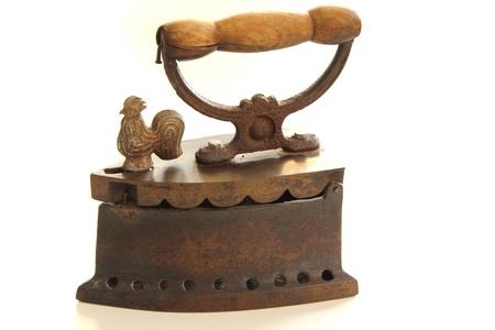 flat iron: Vintage iron