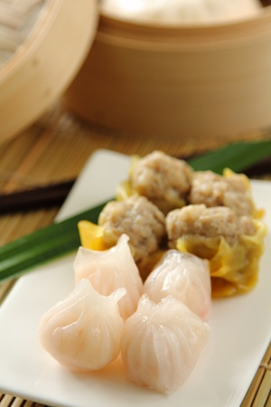 plat chinois: Cuisine chinoise, Dimsum