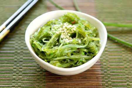 Japanese seaweed  [ Wagame ] photo