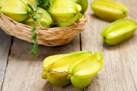 wellfare: Carambola (Star Fruit) Stock Photo