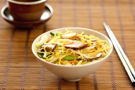 Stir fried Noodle with mushroom