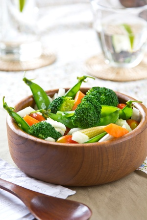 Broccoli ,Pea and Barley salad photo