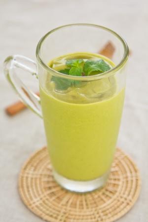 Avocado smoothie photo