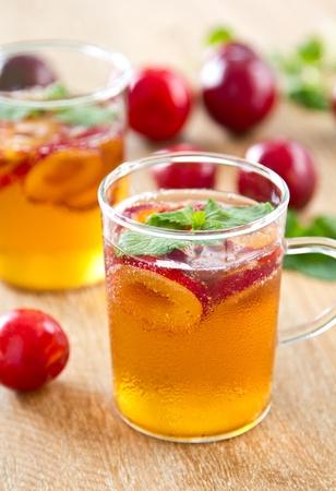 fizzy: Plum juice