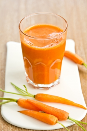 Carrot smoothie photo