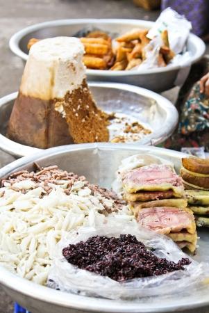 Burmese snack [street food ] photo