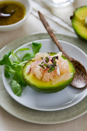 Avocado and Grapefruit salad  photo