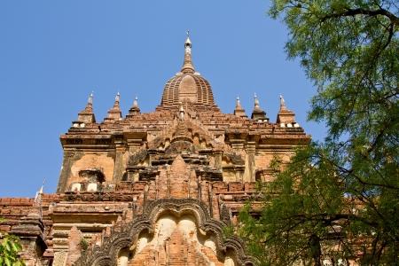 birma: Tempel in Bagan, Birma Stockfoto