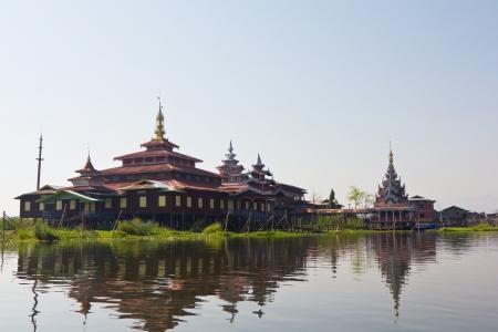 inle: House in Inle lake,Burma