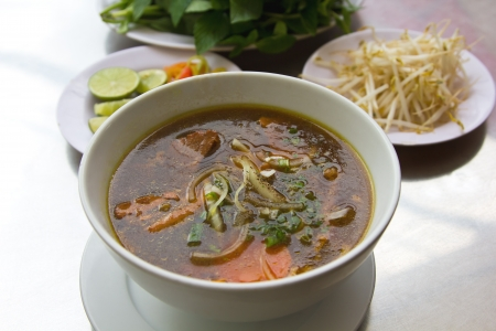 beef stew: Traditional Vietnamese s Beef noodle