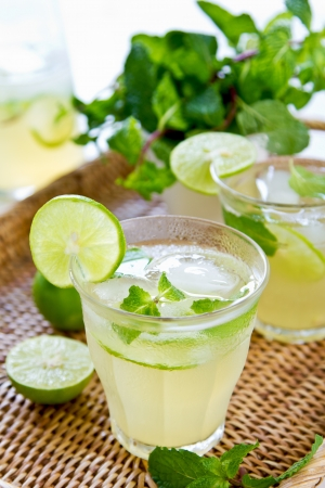Lime juice  photo