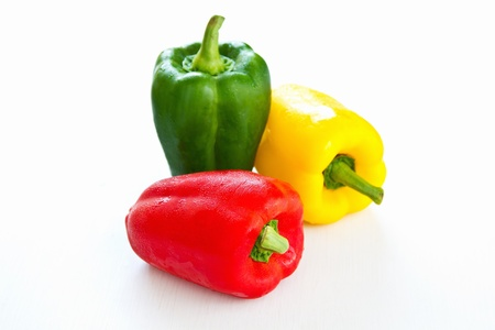 bell peppers:  Bell pepper  Stock Photo