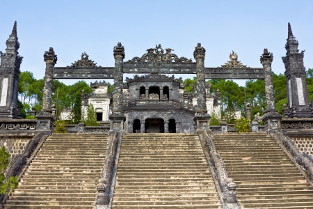 Thien Mu Pagoda in Hue ,Vietnam Stock Photo