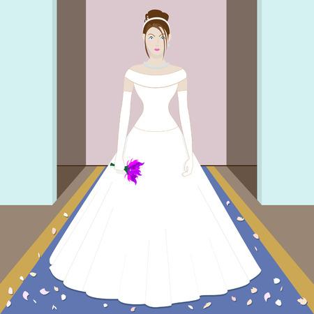 scruple: The scared bride Illustration