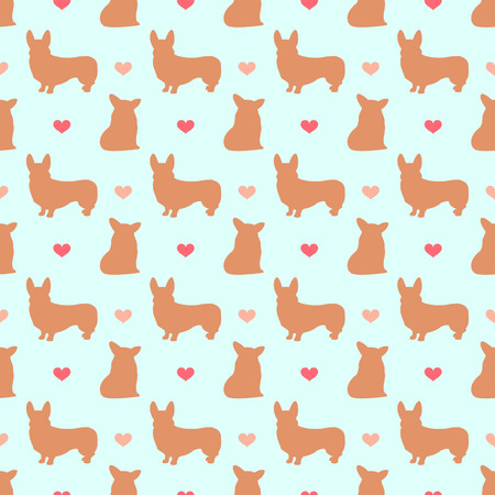 whelps: corgi pattern
