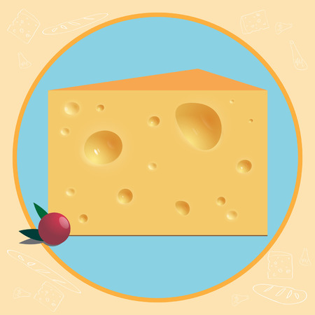 morsel: a piece of cheese