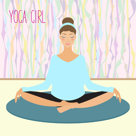 accordance: yoga girl