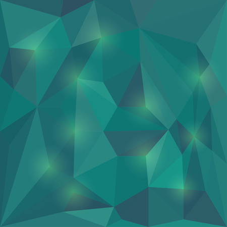 dissimilar: Abstract vector triangular geometric background with glaring lights