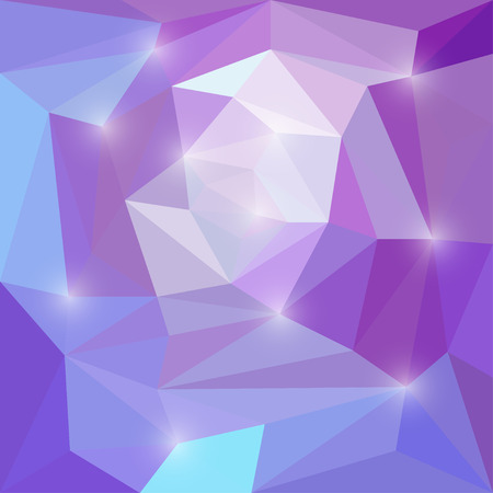 Abstract lilac and purple colored vector background with lights Illustration
