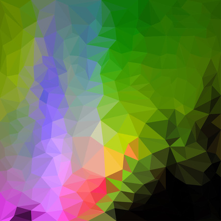 blended: Abstract vector triangular geometric background Illustration