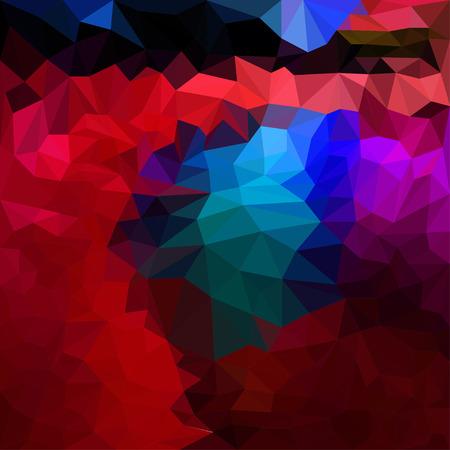 Abstract vector triangular geometric background Illustration