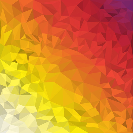 reverberation: Abstract vector triangular polygonal background Illustration