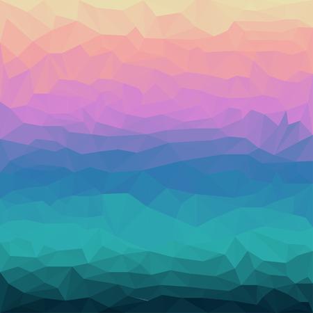 dissimilar: Abstract vector triangular polygonal background Illustration