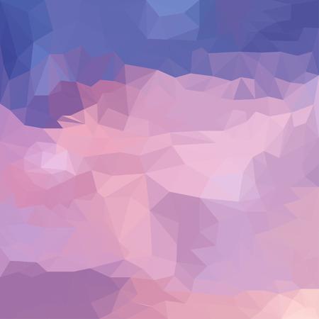 Abstract vector triangular polygonal background Illustration