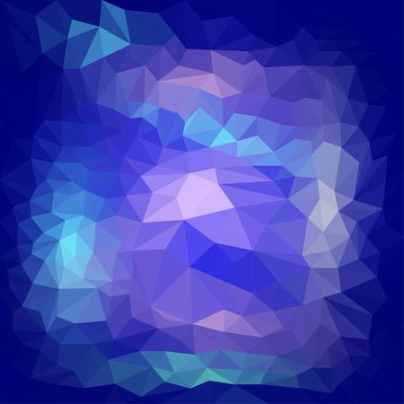 Abstract triangular polygonal geometric background Illustration