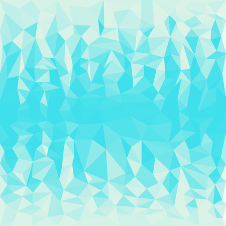 Abstract triangular polygonal geometric background Illustration