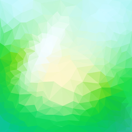 reverberation: Abstract triangular polygonal geometric background Illustration