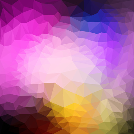 reverberation: Abstract triangular polygonal background