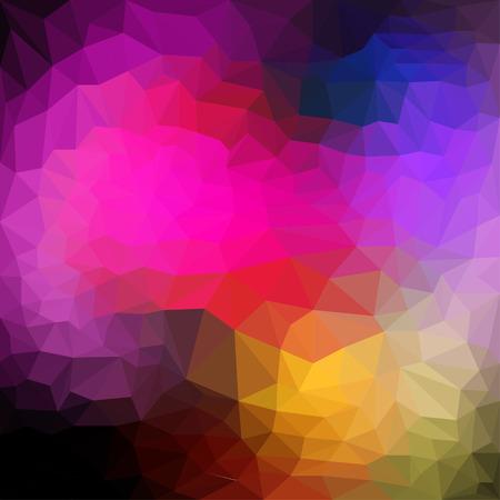 dissimilar: Abstract triangular polygonal geometric background Illustration
