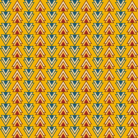 reiteration: Bright triangles pattern geometric background for use in design Illustration