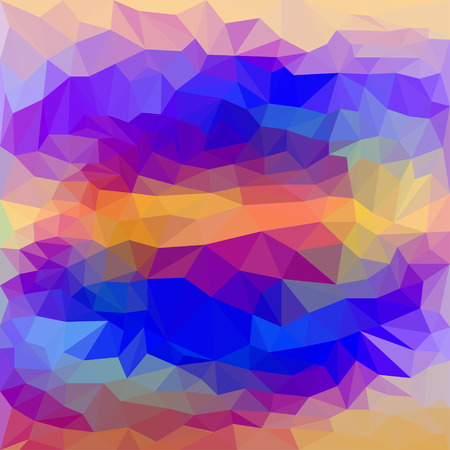 dissimilar: blended abstract geometric polygonal background