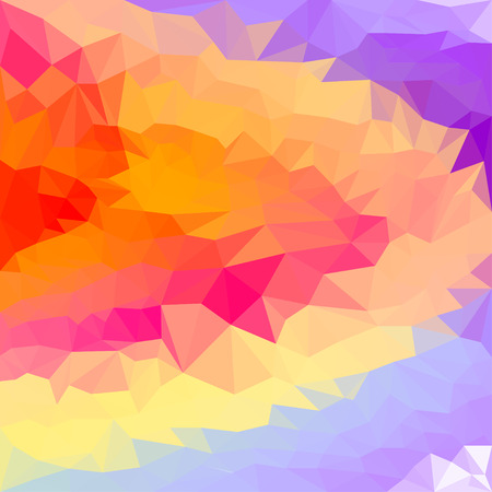 medley: blended abstract geometric polygonal background