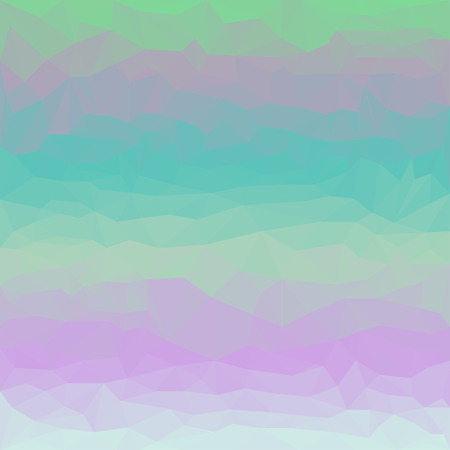 Soft gradient colored abstract polygonal triangular background for use in design Illustration