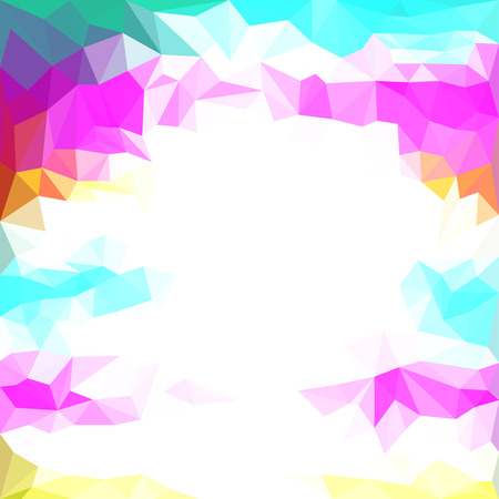 Abstract polygonal triangular basis background for use in design