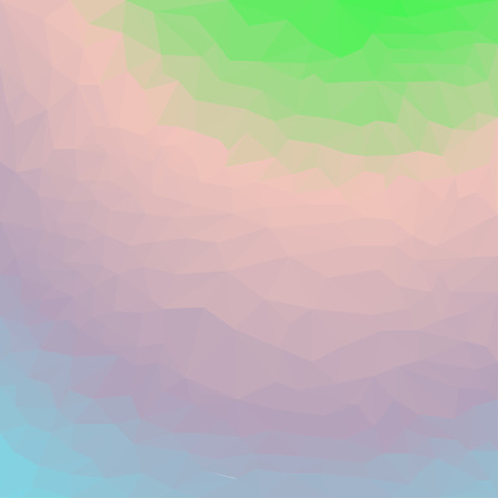 chipping: Soft gradient colored abstract polygonal triangular background for use in design Illustration